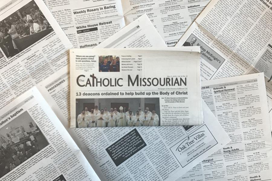 The Catholic Missourian Diocese of Jefferson City Missouri