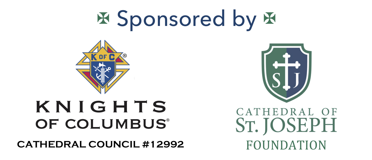 Our Formed.org subscription is Sponsored by The Knights of Columbus and the Cathedral Foundation