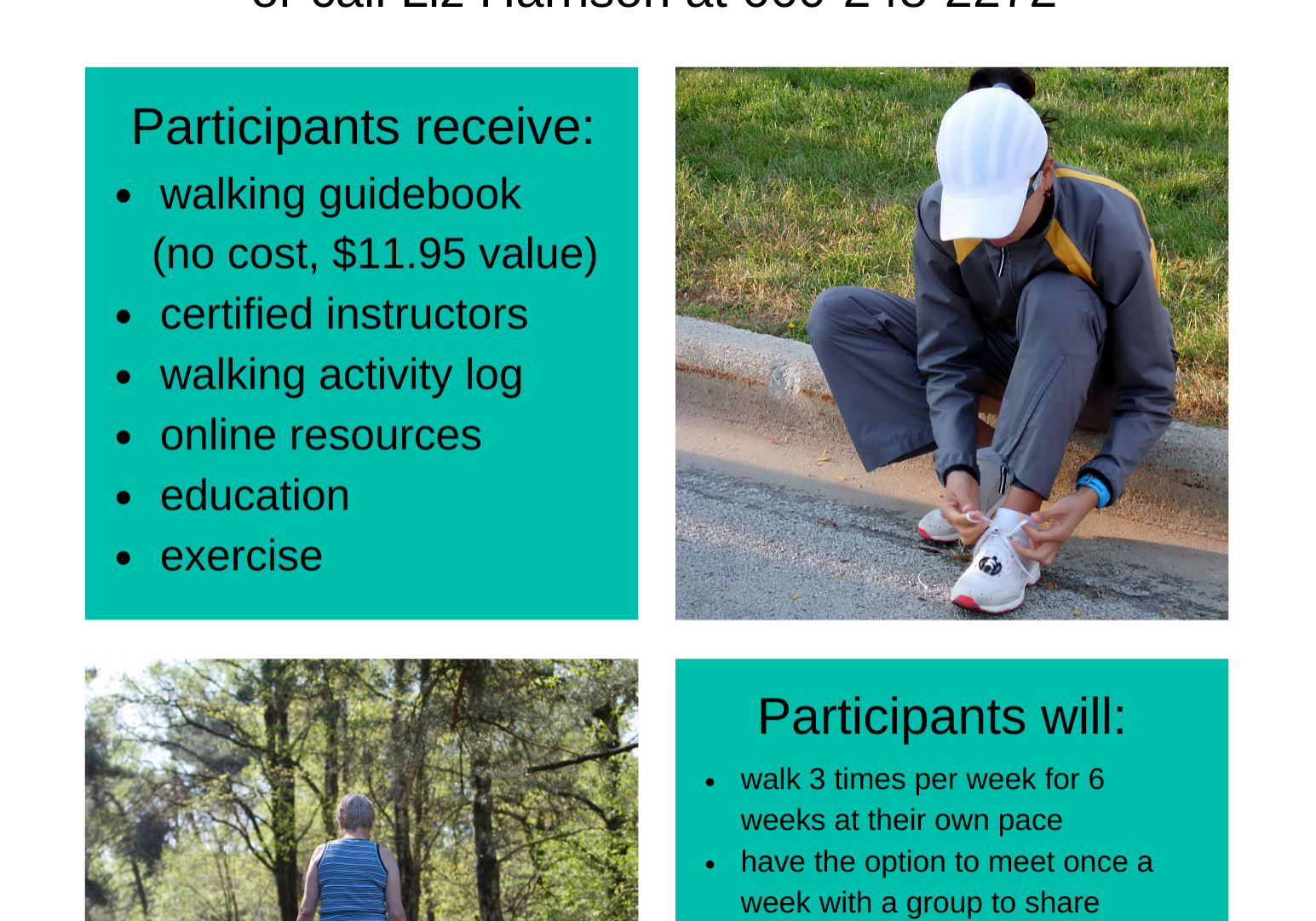 Walk With Ease Flyer 8 2 9 12 2020